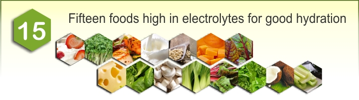 Heading image of 15 foods high in electrolytes for good hydration