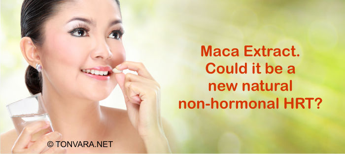 Maca Extract - A New Natural HRT?