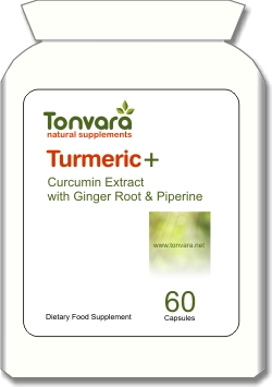 Tonvara Turmeric+ Curcumin Extract with Ginger Root & Piperine - SPECIAL INTRODUCTORY OFFER