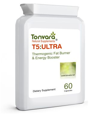 NEW Tonvara T5:ULTRA Thermogenic Fat Burner & Pre-Workout Energy Booster - NOW BUY ONE GET ONE FREE!
