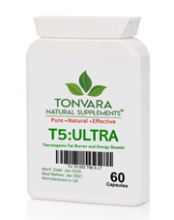 Tonvara T5:ULTRA Thermogenic Fat Burner & Pre-Workout Energy Booster - ULTRA-LOW CLEARANCE PRICES!