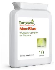 Tonvara MaxBlue Natural Sex Enhancer for Men - Now Ships In Letterbox Friendly Flat Postal Bottles With Discreet Labelling