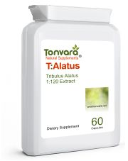 Tonvara T-Alatus 1:120 Pure Tribulus Alatus Extract - Superior to Tribulus Terrestris - now in capsules