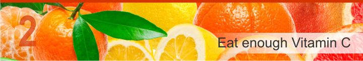 Montage of fresh citrus fruits