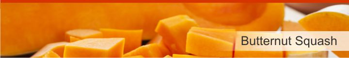 Image of butternut squash from a list of 15 foods high in electrolytes for good hydration